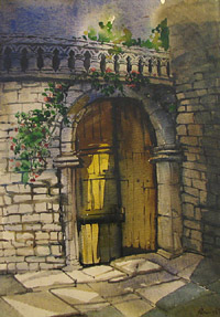 Arched Door by Ranadip Das